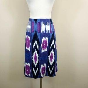 Talbots Ikat Pencil Skirt
